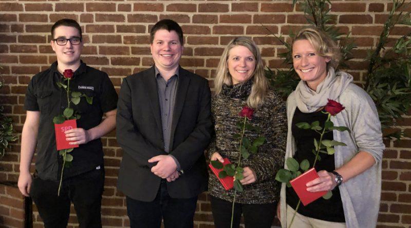 SPD-Ortsverein Uelzen wählt neuen Vorstand und begrüßt Neumitglieder