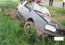 Cabrio-Fahrer verunfallt