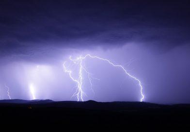 Blitzeinschläge in der Region Uelzen/Lüchow-Dannenberg