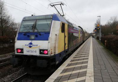 metronom, erixx und enno fahren unverändert alle Züge