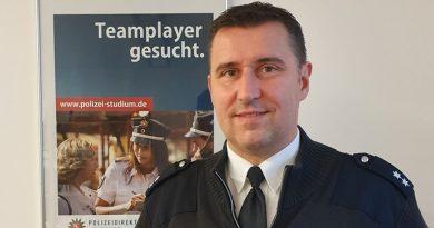 """""""Erster Uelzener Community Policer"""" – Polizeioberkommissar Frank Dreyer in den Sozialen Medien auf Facebook für die Polizei präsent"""