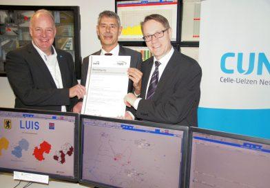 Celle-Uelzen Netz für hohe Sicherheits- und Umweltstandards zertifiziert